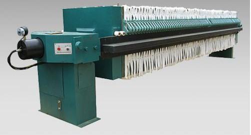液压式板框压滤机图片